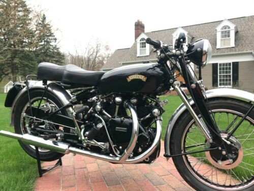 1953 Vincent Black Shadow Series C Black craigslist