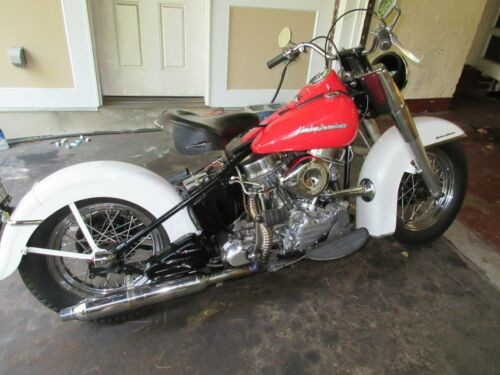 1954 Harley-Davidson FL Pepper Red/Daytona Ivory for sale craigslist