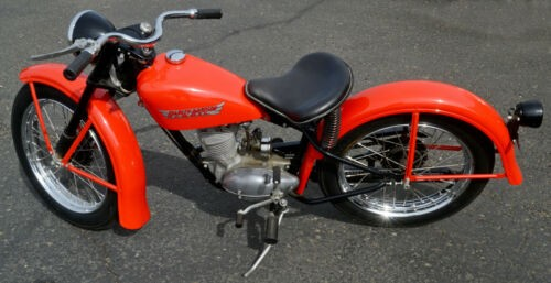 1956 Harley-Davidson Hummer Orange for sale craigslist