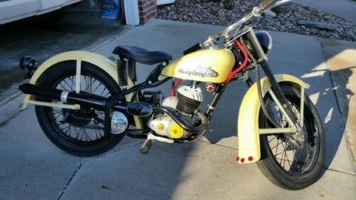 1956 Harley-Davidson Touring Yellow for sale