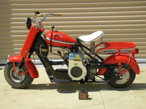1957 Cushman Eagle Red for sale craigslist