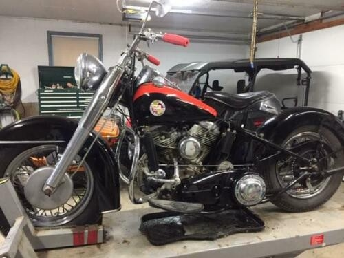 1957 Harley-Davidson FL Red/Black for sale craigslist