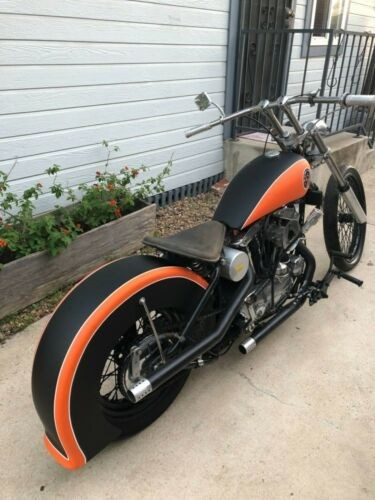 1957 Harley-Davidson Sportster Black for sale
