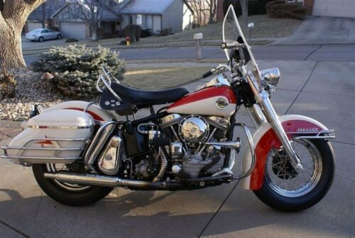 1958 Harley-Davidson FL/FLH Duo Glide Red for sale