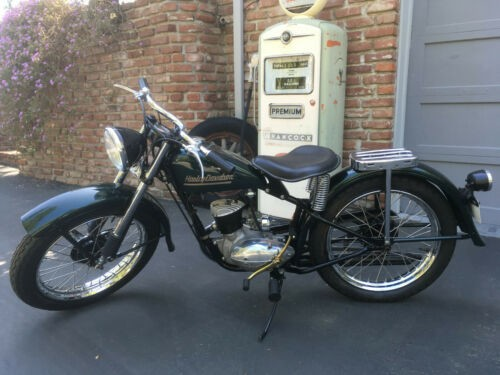 1958 Harley-Davidson Hummer Green for sale craigslist