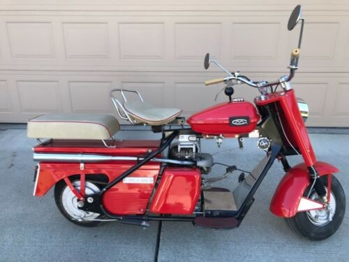 1960 Cushman Super Eagle Red for sale