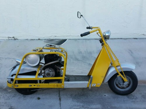 1960 Cushman allstate Yellow for sale