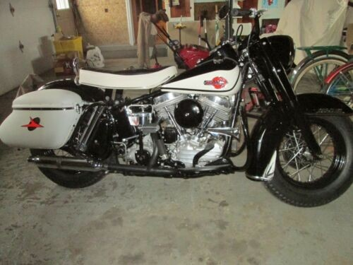 1960 Harley-Davidson FLH Black for sale craigslist