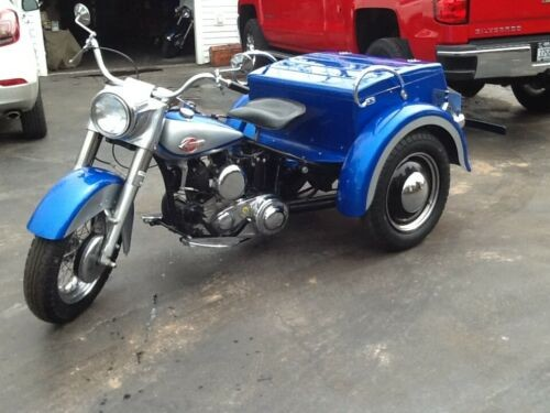 1960 Harley-Davidson Servicar Blue/Silver for sale