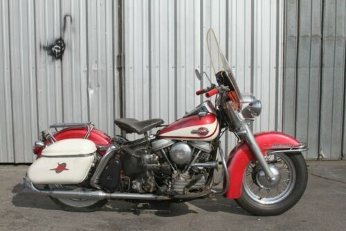 1960 Harley-Davidson Touring Red and White craigslist