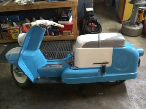 1962 Harley-Davidson TOPPER Blue for sale