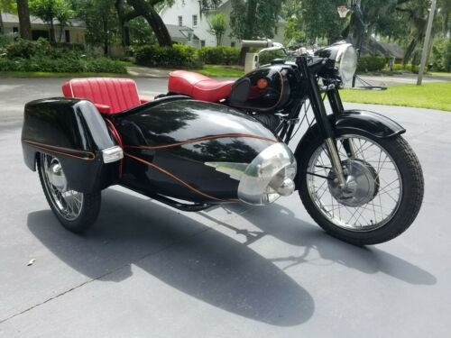 1962 Other Makes Pannonia 250 TLF Deluxe Black for sale