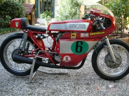 1964 Ducati race bike Red for sale
