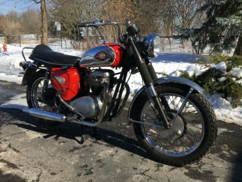 1965 BSA A65 Red for sale craigslist
