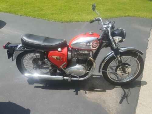 1965 BSA Rocket Red for sale craigslist