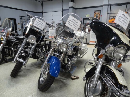 1965 Harley-Davidson Touring Blue for sale craigslist