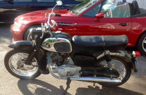 1965 Honda CA95 Black for sale craigslist