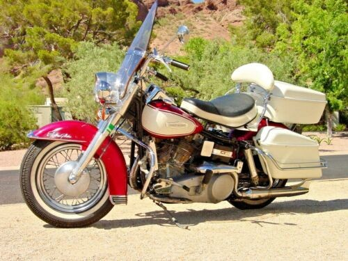 1966 Harley-Davidson FLH Red for sale craigslist