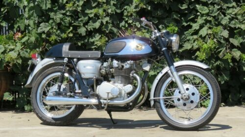 1966 Honda CB Black for sale craigslist