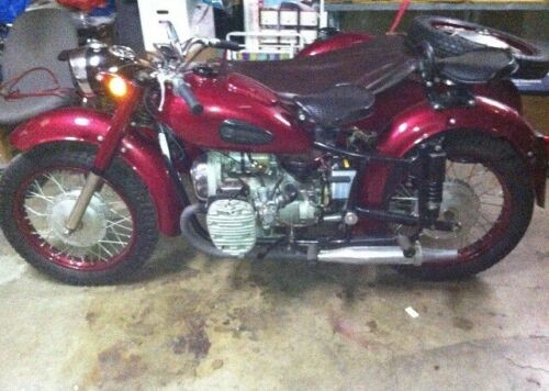 1966 Other Makes KMZ Dnepr Burgundy for sale craigslist
