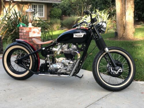 1966 Triumph Bonneville Black for sale craigslist