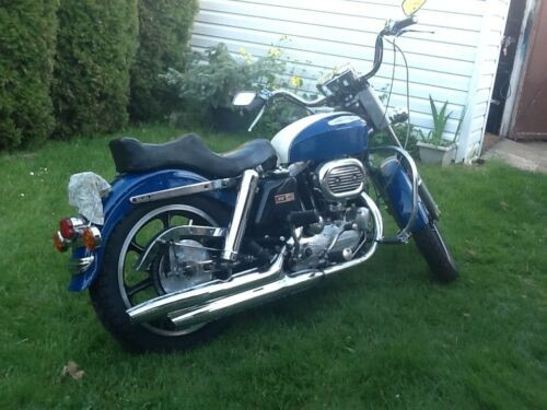 1967 Harley-Davidson Sportster Blue for sale craigslist