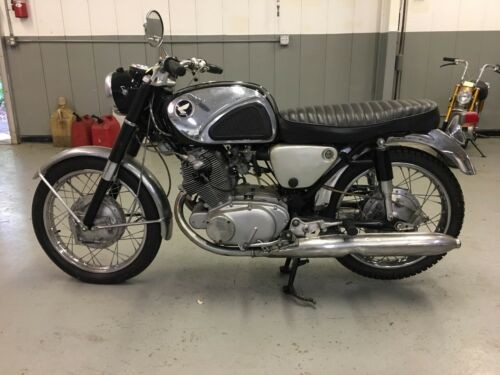 1967 Honda CB Black for sale