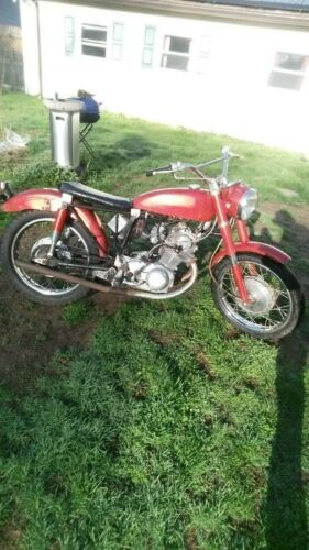1967 Honda CB Red for sale craigslist