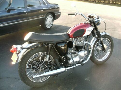 1967 Triumph Bonneville Burgundy for sale