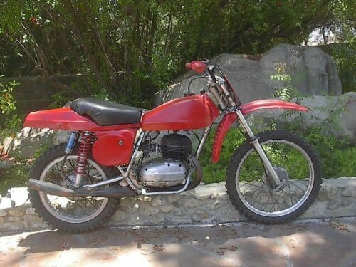 1968 Bultaco 250cc Pursang Red craigslist