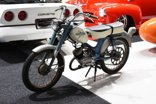 1968 Harley-Davidson 50 CC AERMACCHI SCOOTER MOPED Blue for sale
