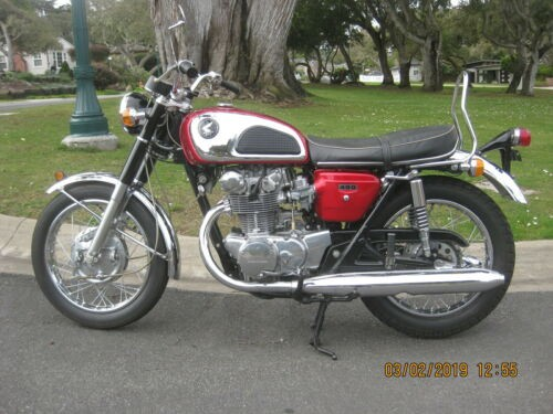 1968 Honda CB Red for sale craigslist