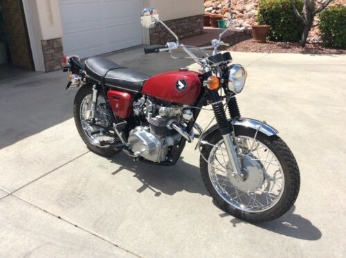 1968 Honda CL Red for sale