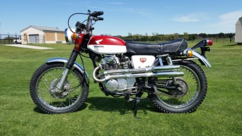 1968 Honda CL Red/white for sale