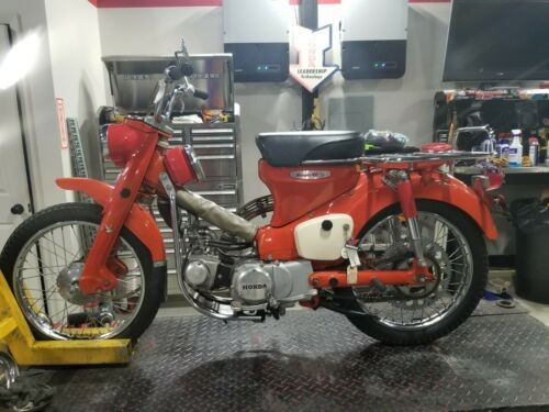 1968 Honda CT90 Scarlet Red for sale craigslist