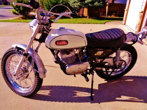 1968 Yamaha DT-1 White for sale craigslist