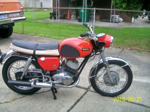 1968 Yamaha yds3 Red for sale