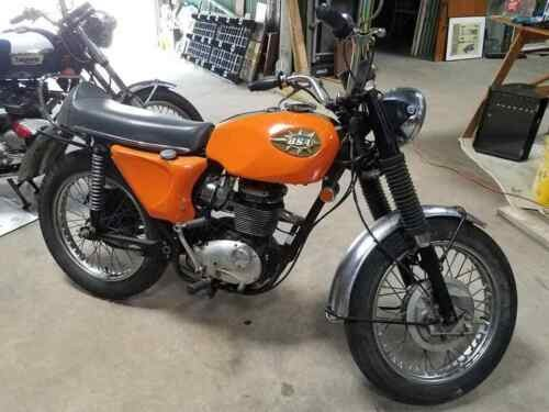 1969 BSA B25 Orange for sale craigslist