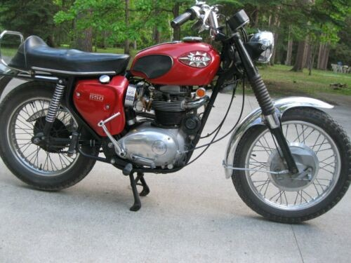 1969 BSA FIREBIRD SCRAMBLER Burgundy for sale craigslist