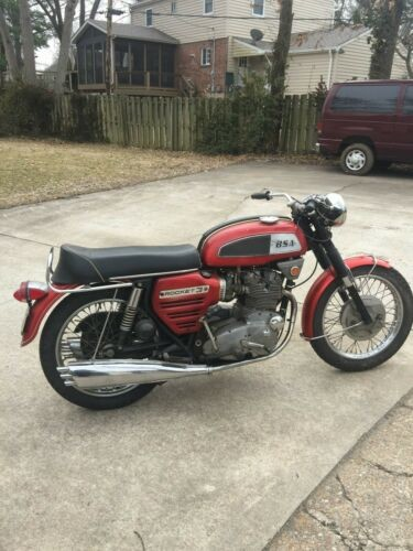 1969 BSA ROCKET 3 A75R RED for sale craigslist