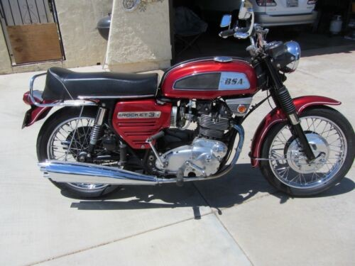 1969 BSA Rocket 3 Red craigslist