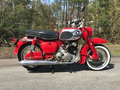 1969 Honda Dream Red for sale craigslist