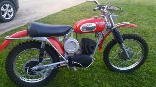 1969 Husqvarna Sportsman 360c Red/Silver/Various for sale craigslist