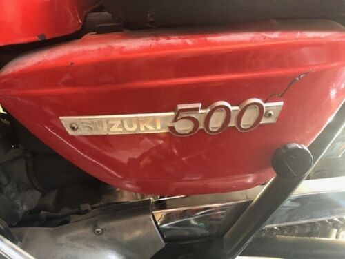1969 Suzuki T500 red for sale craigslist