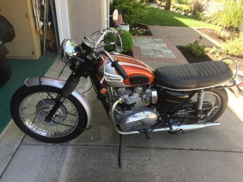 1969 Triumph Bonneville Olympic Flame for sale craigslist