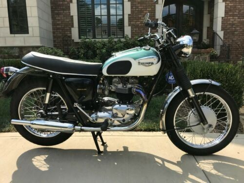 1969 Triumph Trophy Black/Green/White for sale
