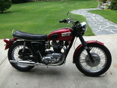 1969 Triumph Trophy Marone for sale craigslist