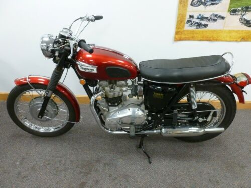 1969 Triumph Trophy Red for sale