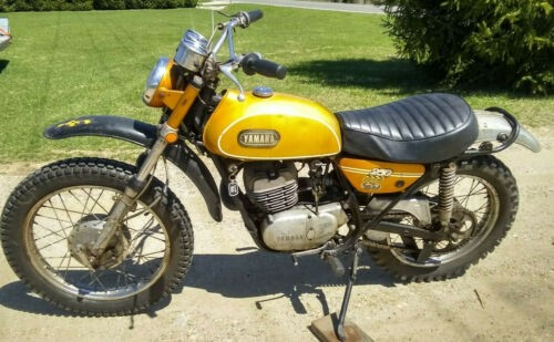 1969 Yamaha DT1 250 Enduro Gold for sale