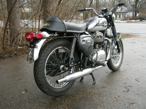 1970 BSA A65 Gun Metal Grey for sale